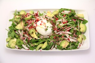 Exotic Burrata salad